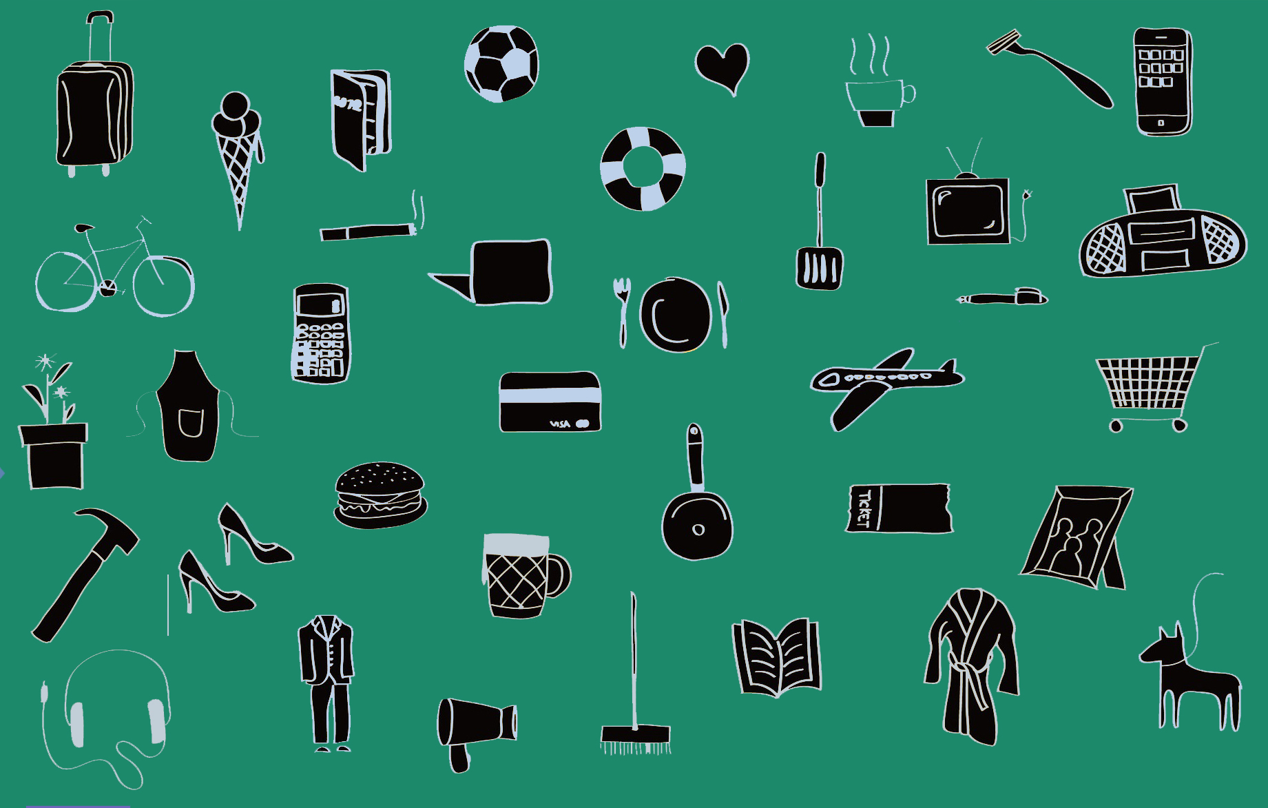 Daily Life Icons