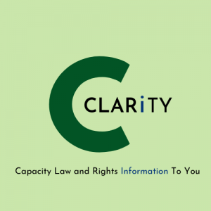 CLARiTY: Capacity Law and Rights Information to You